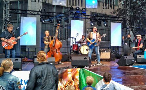 The Lennerockets spielen überirdisch guten Classic Rock.