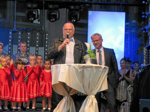 Die Eröffnung von Menden à la carte 2017 mit Bürgermeister Martin Wächter.