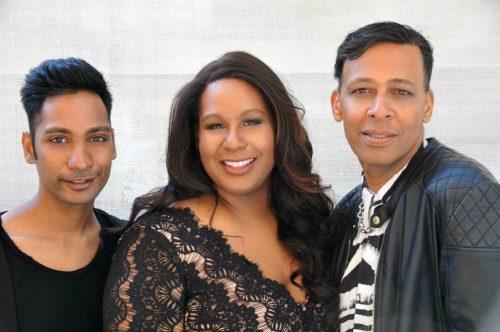 """Mo'Voce - das sind Jeremie Johnson, Sarai Cole und Frank Odjidja (v.l.n.r.) Das stimmgewaltige Opern- und Musicaltrio belegte 2018 in der Show """"Das Supertalent"""" den zweiten Platz."""