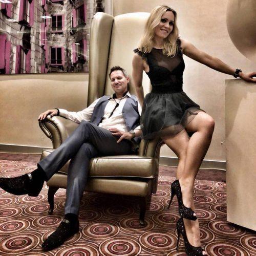 Sax'n Heels - das sind Anna Schenk und René Reuter. Die beiden garantieren einen glamourösen und entspannten Auftritt.