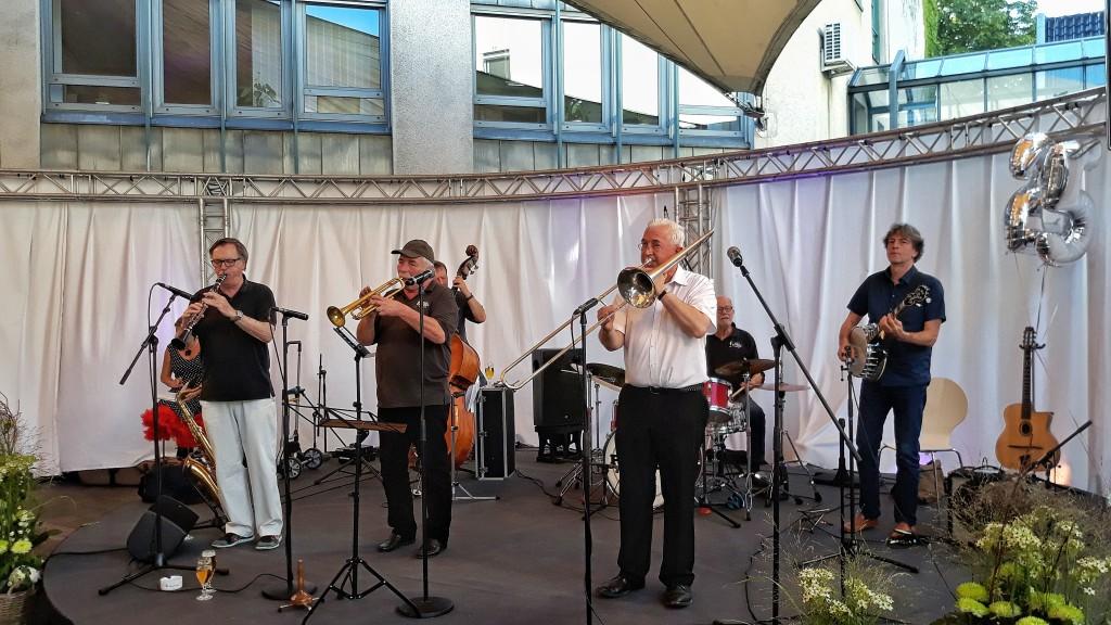 Die Pilspicker sind bereits seit 1969 eine feste Größe in der Dortmunder Jazzszene.