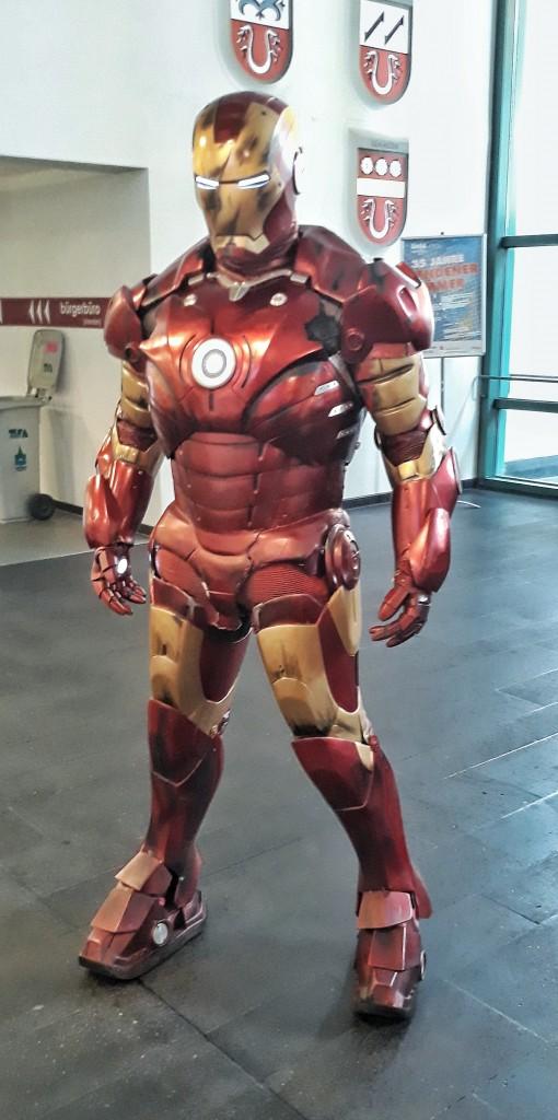 Iron Man wurde bereits im Mendener Rathaus gesichtet.