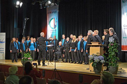 Der Chor Amante della Musica sorgt immer für Begeisterung.
